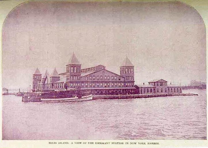 Nyhet: Passasjerlister fra Ellis Island og New York
