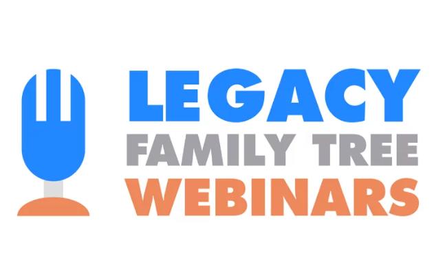 Sjekk ut den nye nettstedet for Legacy Family Tree Webinarer
